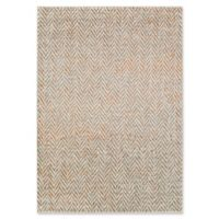Surya Ladeen Geometric Tweed 5-Foot 2-Inch x 7-Foot 6-Inch Area Rug in Burnt Orange