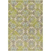 Surya Ayomide Medallions and Damask 6-Foot 9-Inch x 9-Foot 8-Inch Area Rug in Green