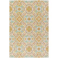 Surya Ayomide Global 2-Foot 2-Inch x 4-Foot Accent Rug in Ivory