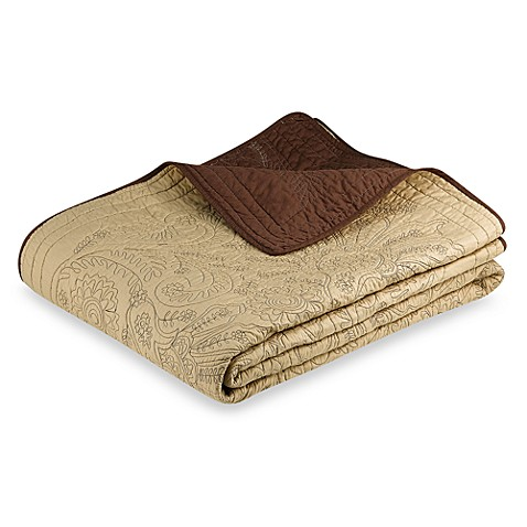 Vallejo Chocolate Twin Bedspread