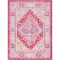 Surya Dynine 3-Foot 11-Inch x 5-Foot 7-Inch Area Rug in Pink