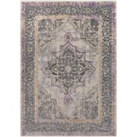 Surya Milamma Classic 2-Foot x 3-Foot Accent Rug in Light Grey