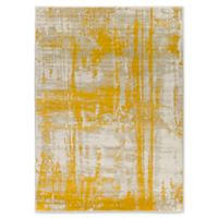 Ladeen Modern66 5-Foot 2-Inch x 7-Inch 6-Inch Area Rug in Gold