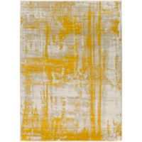 Ladeen Modern66 7-Foot 6-Inch x 10-Foot 6-Inch Area Rug in Gold