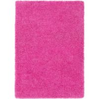 Surya Sven 2-Foot x 3-Foot Shag Accent Rug in Pink