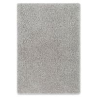 Surya Sven 2-Foot x 3-Foot Shag Accent Rug in Silver