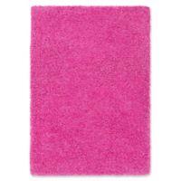 Surya Sven 5-Foot 3-Inch x 7-Foot 3-Inch Shag Area Rug in Pink