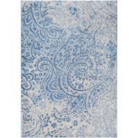 Surya Solaris Floral & Paisley 2-Foot x 3-Foot 3-Inch Accent Rug in Blue