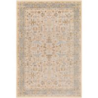 Surya Entheas 2-Foot x 3-Foot Accent Rug in Grey/Yellow
