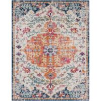 Surya Fenalun Floral Medallion 9-Foot 3-Inch x 12-Foot 6-Inch Area Rug in Light Grey