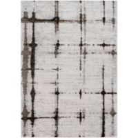 Surya Solaris Modern 2-Foot x 3-Foot 3-Inch Accent Rug in Silver/Charcoal