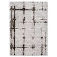 Surya Solaris Modern 5-Foot 3-Inch x 7-Foot 6-Inch Area Rug in Silver/Charcoal