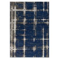 Surya Solaris Modern 5-Foot 3-Inch x 7-Foot 6-Inch Area Rug in Dark Blue