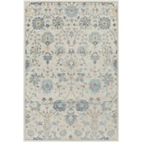 Surya Entheas 2-Foot x 3-Foot Accent Rug in Silver/Light Grey