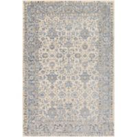 Surya Entheas Fleur 2-Foot x 3-Foot Accent Rug in Silver