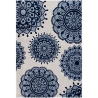 Surya Solaris 2-Foot x 3-Foot 3-Inch Accent Rug in Blue