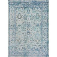 Surya Dynine Traditional 2-Foot x 3-Foot Accent Rug in Green/Blue