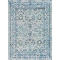 Surya Dynine Traditional 3-Foot 11-Inch x 5-Foot 7-Inch Area Rug in Green/Blue