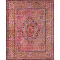 Surya Dynine Center Medallion Border 7-Foot 10-Inch x 10-Foot 3-Inch Area Rug in Pink
