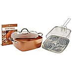 Copper Chef™ 5-Piece XL 11-Inch Square Casserole Pan Set