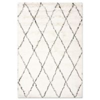 nuLOOM Urbanized Marrakech Shag 2-Foot x 3-Foot Accent Rug in Ivory