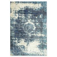 nuLOOM Traces Vintage Lindsy 7-Foot 10-Inch x 11-Foot 2-Inch Area Rug in Blue