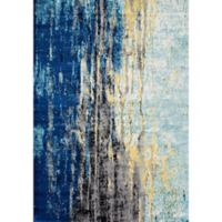nuLOOM Katharina 2-Foot x 3-Foot Accent Rug in Blue