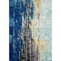 nuLOOM Katharina 4-Foot x 6-Foot Area Rug in Blue