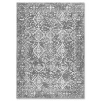nuLOOM Bodrum Vintage Odell 5-Foot 3-Inch x 7-Foot 9-Inch Area Rug in Silver