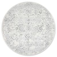 nuLOOM Bodrum Vintage Odell 8-Foot Round Area Rug in Ivory