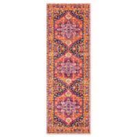 nuLOOM Bodrum Persian 2-Foot 8-Inch x 8-Foot Vonda Runner in Pink