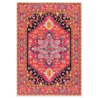 nuLOOM Bodrum Persian 4-Foot x 6-Foot Vonda Area Rug in Pink