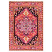 nuLOOM Bodrum Persian 5-Foot x 7-Foot 5-Inch Vonda Area Rug in Pink