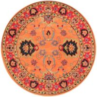 nuLOOM Remade Hand-Tufted Montesque 8-Foot Round Rug