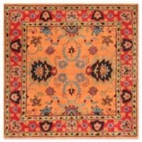 nuLOOM Remade Montesque 6-Foot Square Area Rug in Orange
