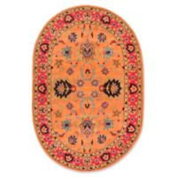 nuLOOM Remade Montesque 6-Foot x 9-Foot Area Rug in Orange