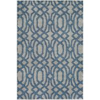 Surya Solaris Medallions 2-Foot x 3-Foot 3-Inch Accent Rug in Blue