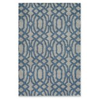 Surya Solaris Medallions 5-Foot 3-Inch x 7-Foot 6-Inch Area Rug in Blue