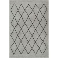 Surya Solaris Medallions and Damask 2-Foot x 3-Foot 3-Inch Accent Rug in Grey