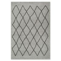 Surya Solaris Medallions and Damask 5-Foot 3-Inch x 7-Foot 6-Inch Area Rug in Grey
