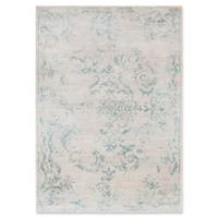 Surya Allegro Damask 2-Foot 2-Inch x 3-Foot Accent Rug in Ivory