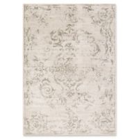 Surya Allegro Damask 2-Foot 2-Inch x 3-Foot Accent Rug in Brown