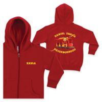 """Daniel Tiger's Neighborhood""™ Size 5/6 Full-Zip Hoodie in Red"