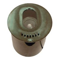 Best Quality Lighting Die-Cast Low-Voltage Outdoor Well Light in Green