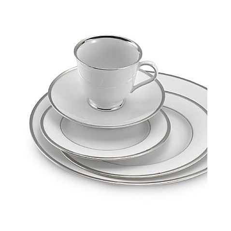 Nikko Band of Platinum 5-Piece Place Setting