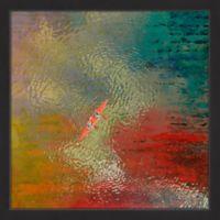 Parvez Taj Red Kayak 18-Inch x 18-Inch Wall Art
