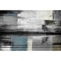 Parvez Taj Peaceful Lake 18-Inch x 12-Inch Canvas Wall Art