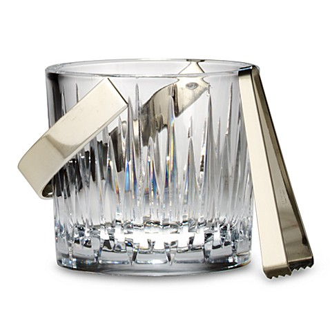 image of Reed & Barton® Soho Ice Bucket with Tongs