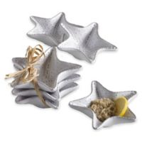 Mud Pie® Starfish Mini Dip Cups in White (Set of 3)