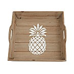 Mud Pie® Pineapple Wood Tray